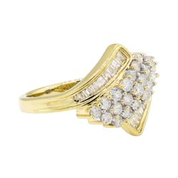 1.00 ctw Diamond Ring - 10KT Yellow Gold