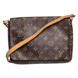 Louis Vuitton Monogram Canvas Leather Tango Bag