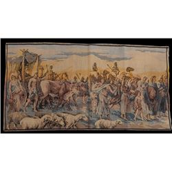 Beautiful, Vintage French Tapestry Wall Hanging 50x95cm