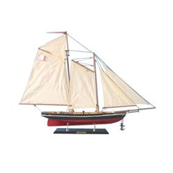 """Wooden America Limited Model Sailboat 35"""""""