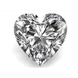 2.41cts - Bianco Diamond Heart Shaped Grade 6AAA - Loose Stone