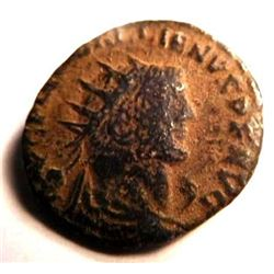 Bronze coin of Gallienus (253-265 A.D.)