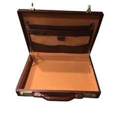 Presto Wooden Rosewood Attache Briefcase