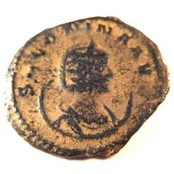 Bronze coin of Salonina, wife of Gallienus