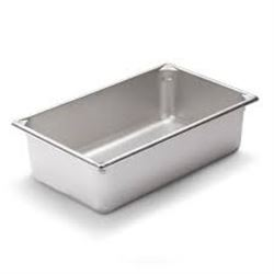 """Qty 6 Vollrath 30062 Steam Table / Hotel Pan - Full Size,  6"""" Deep"""