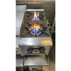 Wells Two Burner Range (Pick up from Mililani)