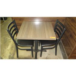 Qty 4 Tables & 16 Chairs