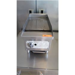 """Vollrath 40718 12"""" Flat Top Gas Countertop Griddle (Pick-up from Mililani)"""
