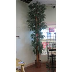 Tall Potted Artificial Bamboo