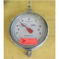 AccuWeb Hanging Dial Scale, 20lb Capacity