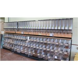 Entire Dispenser System (Approx 47 Small, 16 Large) and Gravity Dispensers (Approx 31)