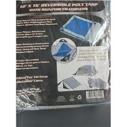 New 12 x 16ft Reversable Tarp