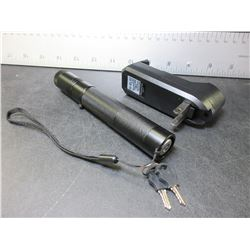 New LASER high power with Key lock and comes with Battery & charger