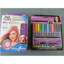 New Temporary Hair Chalk & Face & Body Markers cosmetic quality