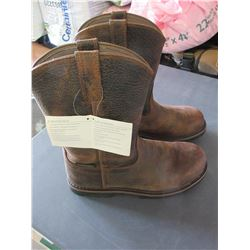 New Rancher ll Boots size 11m / Waterproof Premium Hammered Leather