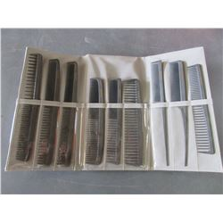 New 9 piece Fortress Comb Set with case