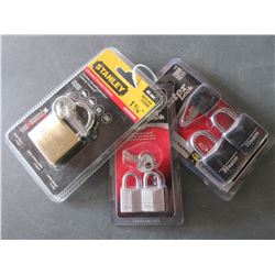 Bundle of 5 New Locks