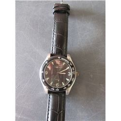 Nexxtech Watch with Leather strap Japan Movment / needs Battery