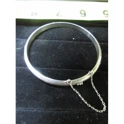 925 Silver Bracelet with safety chain