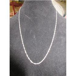 925 Silver 24 inch Chain 6.4 grams