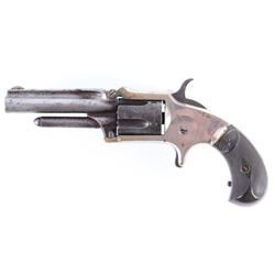 Marlin No.32 Standard 1875 .32 RF Nickel Revolver