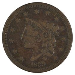 1839 Coronet Large Cent Coin