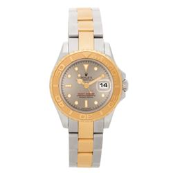 Rolex Yacht Master 18KT Two Tone Gold Ladies Wristwatch