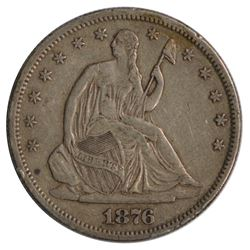 1876-S Seated Liberty Half Dollar Coin
