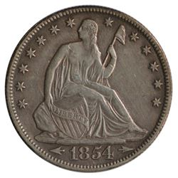 1854-O Seated Liberty Half Dollar Coin