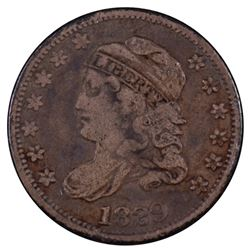 1829 Liberty Capped Bust Half Dime Coin