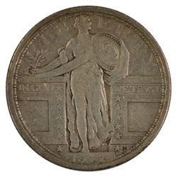 1917 Standing Liberty Quarter Coin
