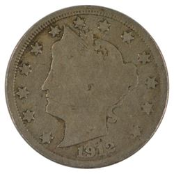 1912-S Liberty Nickel Coin