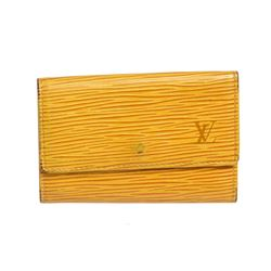 Louis Vuitton Tassil Yellow Epi Leather 6 Key Holder