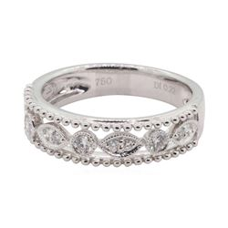 0.22 ctw Diamond Ring - 18KT White Gold
