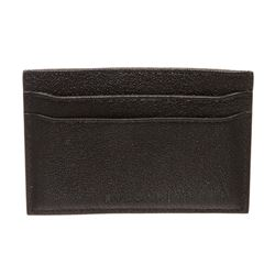 Bvlgari Black Leather Cardholder Wallet