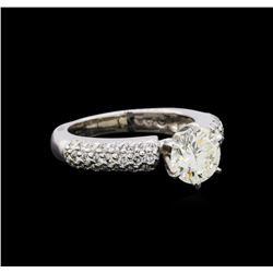 2.10 ctw Diamond Ring - 14KT White Gold