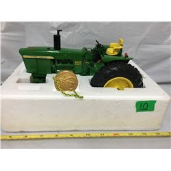 JD 4020 POWER SHIFT TRACTOR, BEEN DISPLAYED