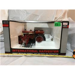 INTERNATIONAL HARVESTER FARMALL 504 WITH 468 CULTIVATOR, AS NEW