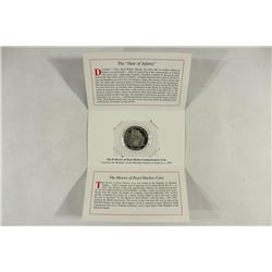 1991 MARSHALL ISLANDS $5 COIN HEROES OF PEARL