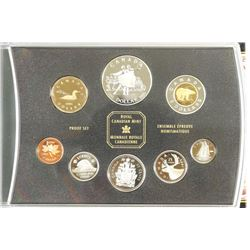 2001 CANADA PROOF SET ALL STERLING SILVER EXCEPT