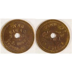 Stag Cigar Store Token