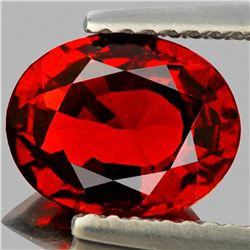 Natural Deep Orange/Red Spessartite Garnet 2.35 Ct- VVS