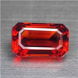 Natural Fancy Vivid Orange/Red Sapphire 2.17 cts - VVS