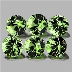 Natural Green Tourmaline 3.80 MM - VVS