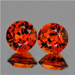 Natural Mandarin Orange Spessartite Garnet 5.20 MM VVS