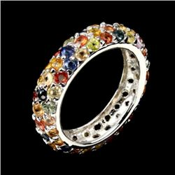 Natural Fancy Colors Sapphire Ring