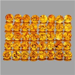 Natural Golden Yellow Citrine 5.40 Cts (3.50 MM)