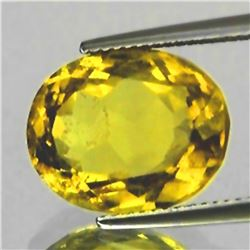 Natural Golden Yellow Citrine 9.30 Cts {VVS}