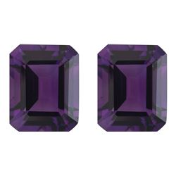 Purple Amethyst Pair 10.01 Carats - VVS