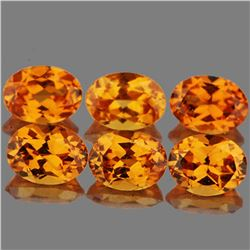 Natural Fanta Orange Spessartite Garnet 4x3 mm - VVS